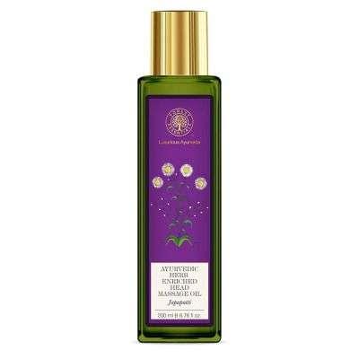 Buy Forest Essentials Ayurvedic Herb Enriched Head Japapatti Massage Oil