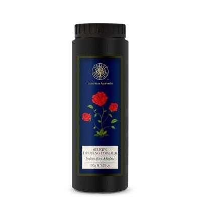 Buy Forest Essentials Indian Rose Absolute Silken Dusting Powder