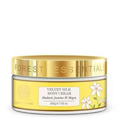 Buy Forest Essentials Madurai Jasmine and Mogra Velvet Silk Body Cream