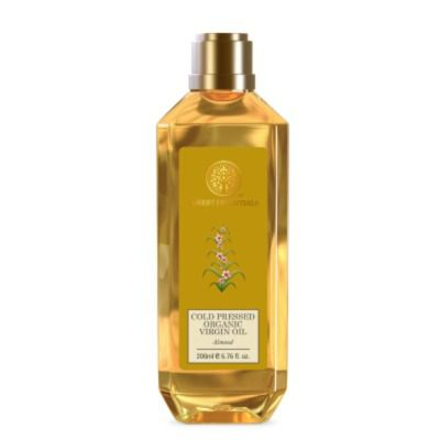 Buy Forest Essentials Organic Cold Pressed Almond Virgin Oil