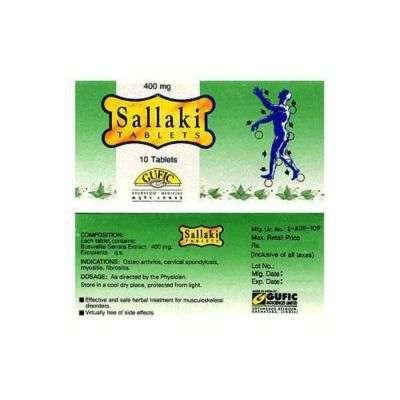 Gufic Biosciences Sallaki 400mg
