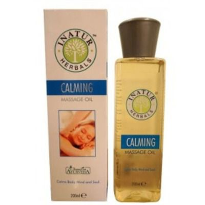 Buy Inatur Calming Body Massage Oil
