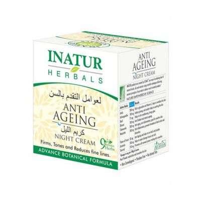 Buy Inatur Herbals Anti Ageing Night Cream