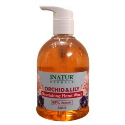 Buy Inatur Orchid & Lily Hand Wash