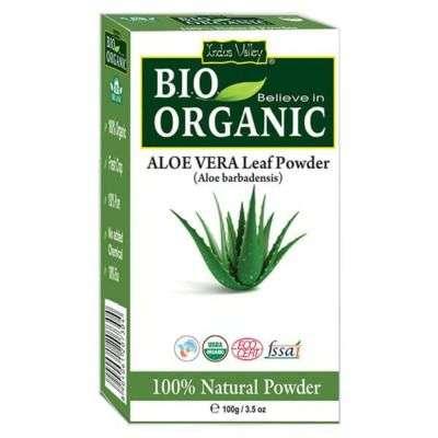 Buy Indus Valley Bio Organic Aloevera Powder