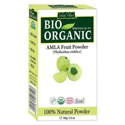 Buy Indus Valley Bio Organic Amla Powder