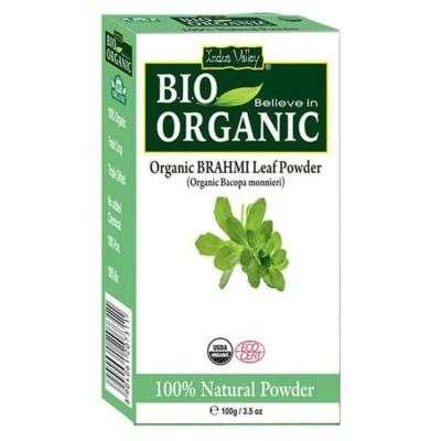 Buy Indus Valley Bio Organic Brahmi Powder