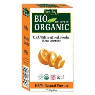 Buy Indus Valley Bio Organic Orange Peel Powder