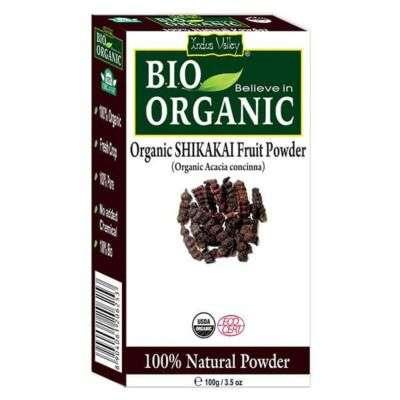 Buy Indus Valley Bio Organic Shikakai Powder
