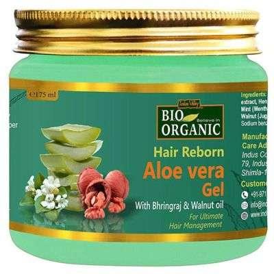 Buy Indus Valley Hair Reborn Aloe Vera Gel