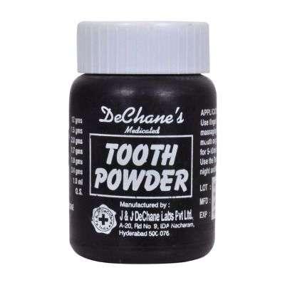 Buy J & J Dechane Medicated Tooth Powder