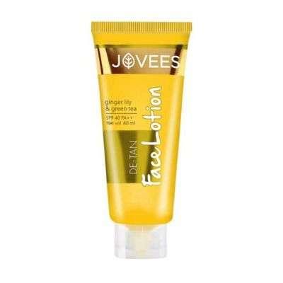 Buy Jovees Herbals Ayurvedic De - tan Lotion SPF 40