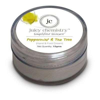 Buy Juicy Chemistry Peppermint & Tea Tree ( Hand & Foot Cream )