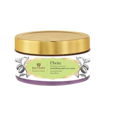 Buy Just Herbs I'Brite Almond-Green Tea Nourishing Under Eye Cream