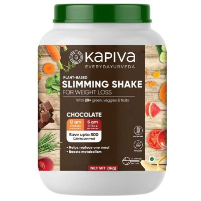 Buy Kapiva Plant Based Slimming Nutrition Powder - Chocolate