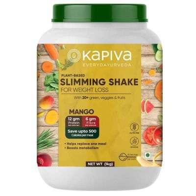 Buy Kapiva Plant Based Slimming Nutrition Powder - Mango