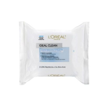 Buy L'oreal Paris Ideal Skin Make Up Removing Towelettes