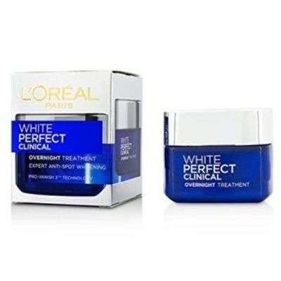 Buy L'oreal Paris White Perfect Clinical Overnight Treatment Cream