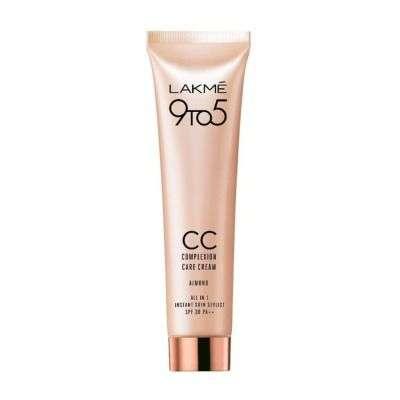 Buy Lakme 9 to 5 Complexion Care CC Cream SPF 30 PA++ - Almond