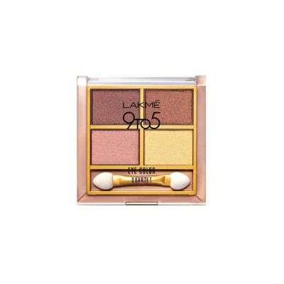 Buy Lakme 9 to 5 Eye Color Quartet Eye Shadow - 7 gm