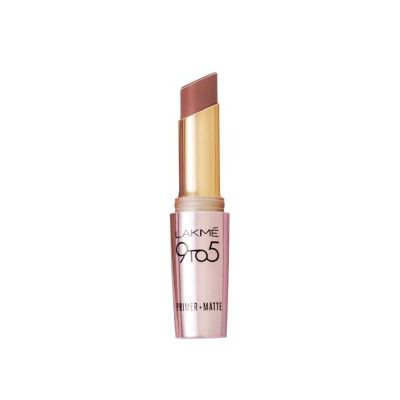 Buy Lakme 9 to 5 Matte Lip Care MB1 - Coffee Command