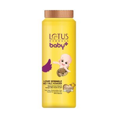 Lotus Herbals Baby+ Love Sprinkle No - Talc Powder