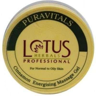 Buy Lotus Professional Cinnamon Energising Massage Gel