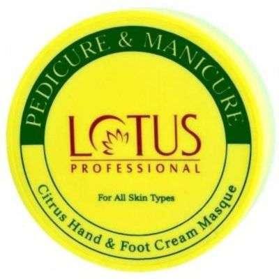 Buy Lotus Professional Pedicure and Manicure Citrus Hand and Foot Cream Masque