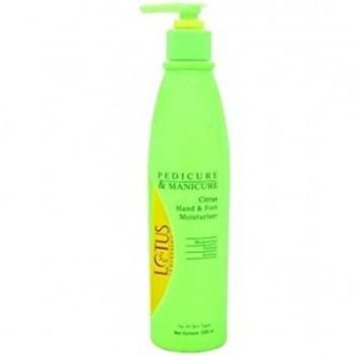 Buy Lotus Professional Pedicure and Manicure Citrus Hand and Foot Moisturiser