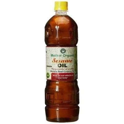 Buy Mother Organic Seasame Oil