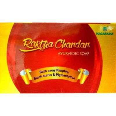 Buy Nagarjuna Raktha Chandan Ayurvedic Soap