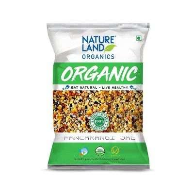 Buy Natureland Organics Panchrangi Dal