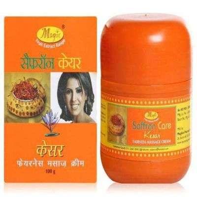 Buy Natures Essence Saffron Massage Cream