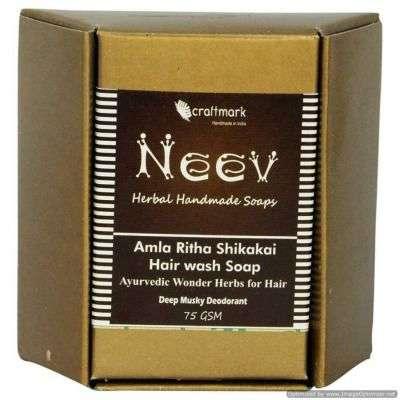 Buy Neev Amla Ritha Shikakai Hair wash Ayurvedic Wonder Herbs for Hair