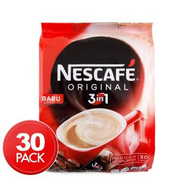 Nescafe 3 In 1 Original Soluble Coffee Beverage