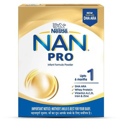 Nestle NAN Pro 1 Infant Formula, Upto 6 months