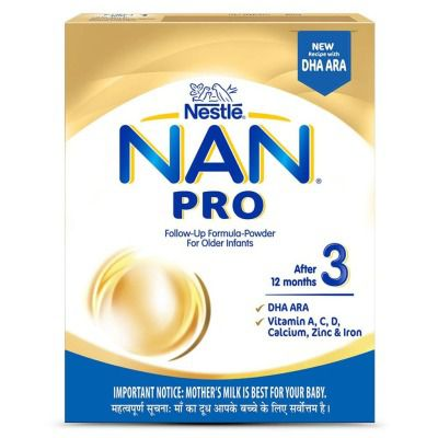 Nestle NAN Pro 3 Follow - Up Infant Formula Powder, After 12 months