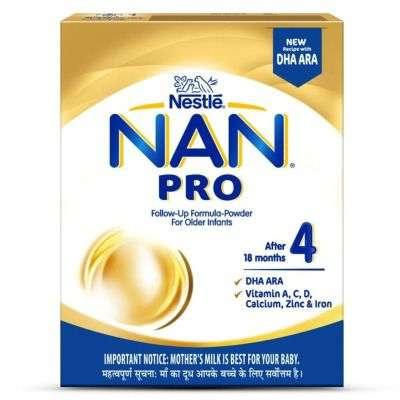 Nestle Nan Pro 4 Follow - Up Infant Formula Powder, After 18 months
