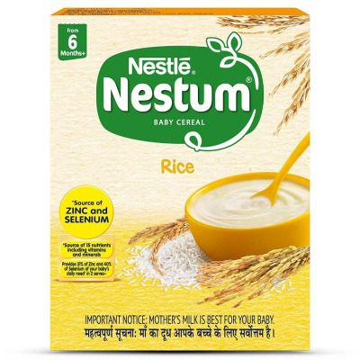 Buy Nestle NESTUM Baby Cereal From 6 months - Rice