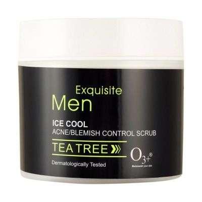 Buy O3+ Men Ice Cool Acne / Blemish Control Scrub