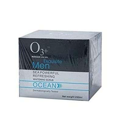 Buy O3+ Reinvent Your Skin Exquisite Men Sea Powerful Refreshing Whitening Scrub Ocean