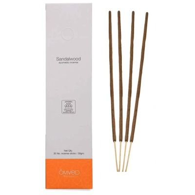 Buy Omved Sandalwood Ayurvedic Incense Sticks