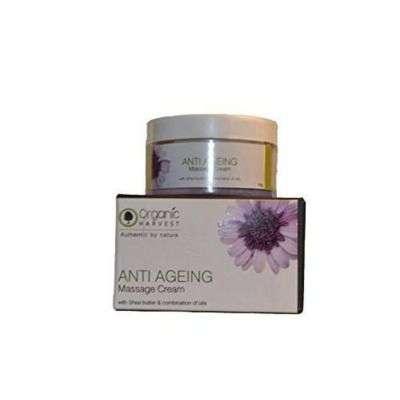 Buy Organic Harvest Anti Ageing Massage Cream
