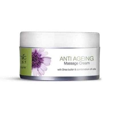 Buy Organic Harvest Massage Cream Anti Ageing
