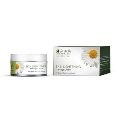 Buy Organic Harvest Massage Cream Skin Lightening