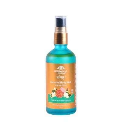 Buy Organic India Face and Body Mist Jasmine Rose