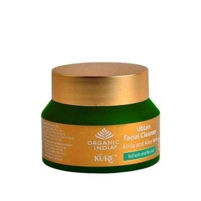 Organic India Ubtan Facial Cleanser Amla Aloe Vera