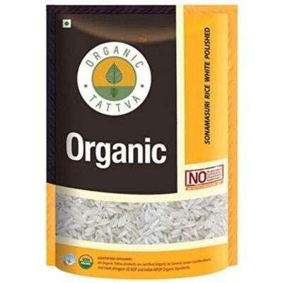 Buy Organic Tattva Sona Masuri Rice White Polished
