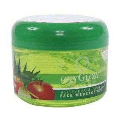 Buy Oxyglow Aleo Vera & Apple Face Massage Gel