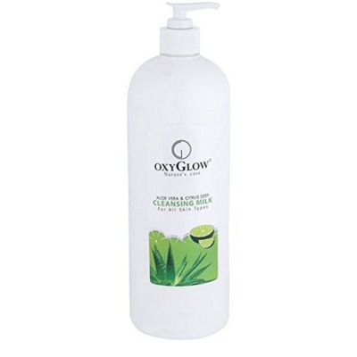 Buy Oxyglow Aloe vera and Citurs Deep Cleansing Milk